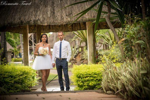 ślub na Mauritiusie zdjęcie