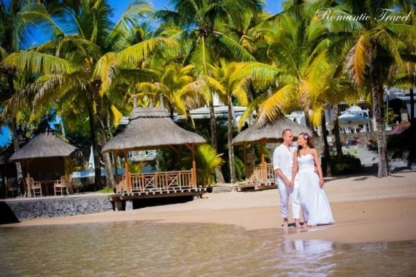 ślub na Mauritiusie za rękę