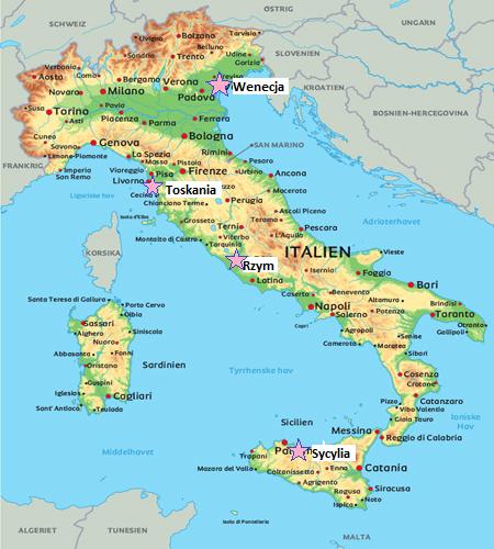 mapa w