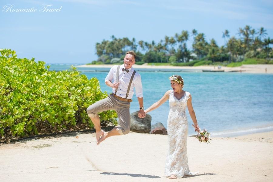 Ślub na Hawajach